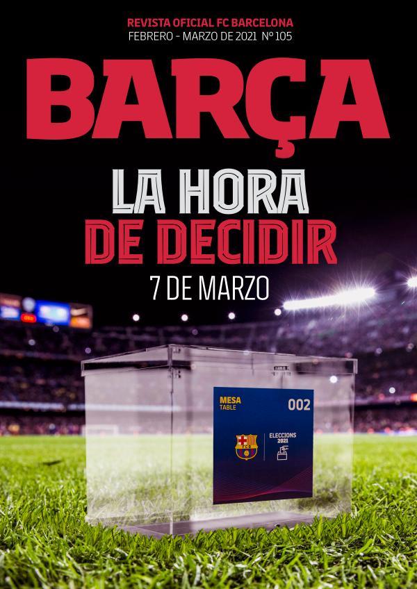Barça 105 Febrero - Marzo de 2021