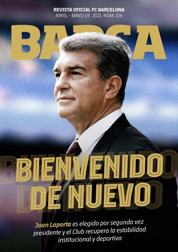 Barça 106 Abril - Mayo de 2021
