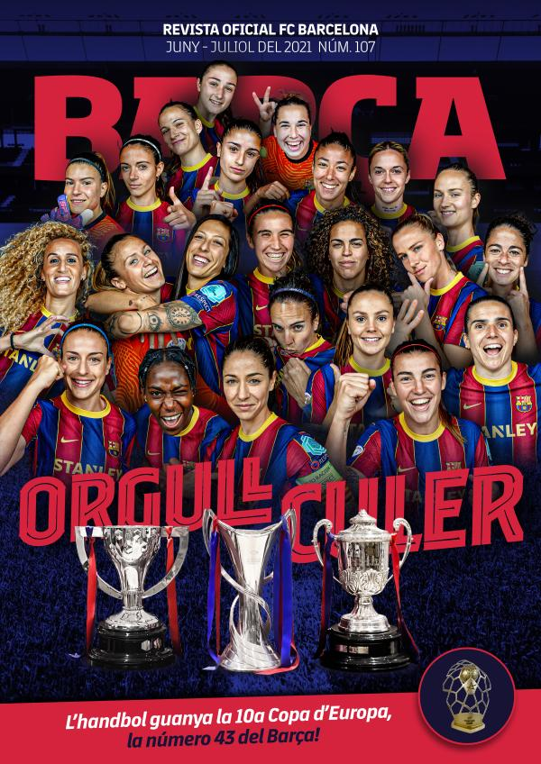 Barça 107 Juny - Juliol del 2021