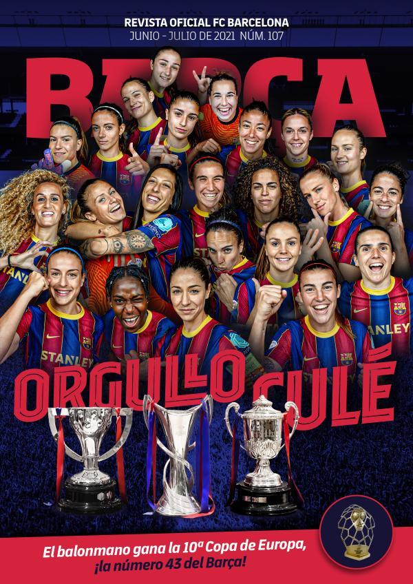 Barça 107 Junio - Julio de 2021