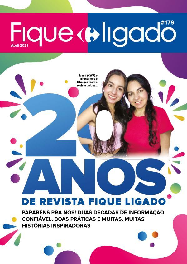 Revista Fique Ligado 179 Abril de 2021