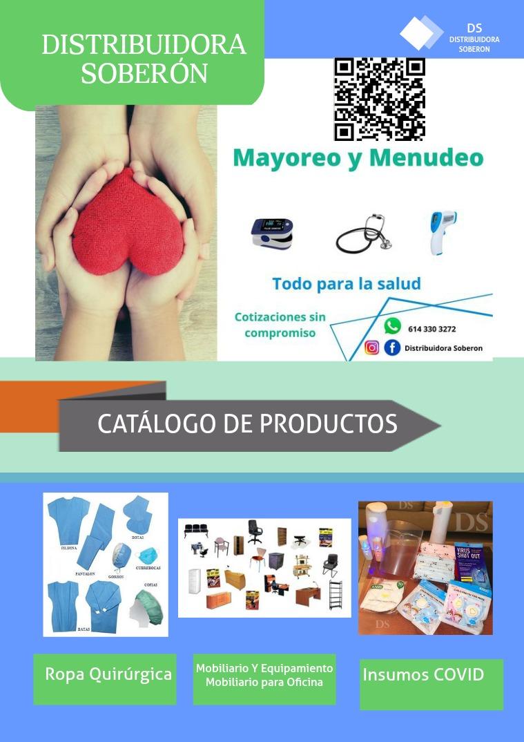 Distribuidora Soberón Catálogo de Productos
