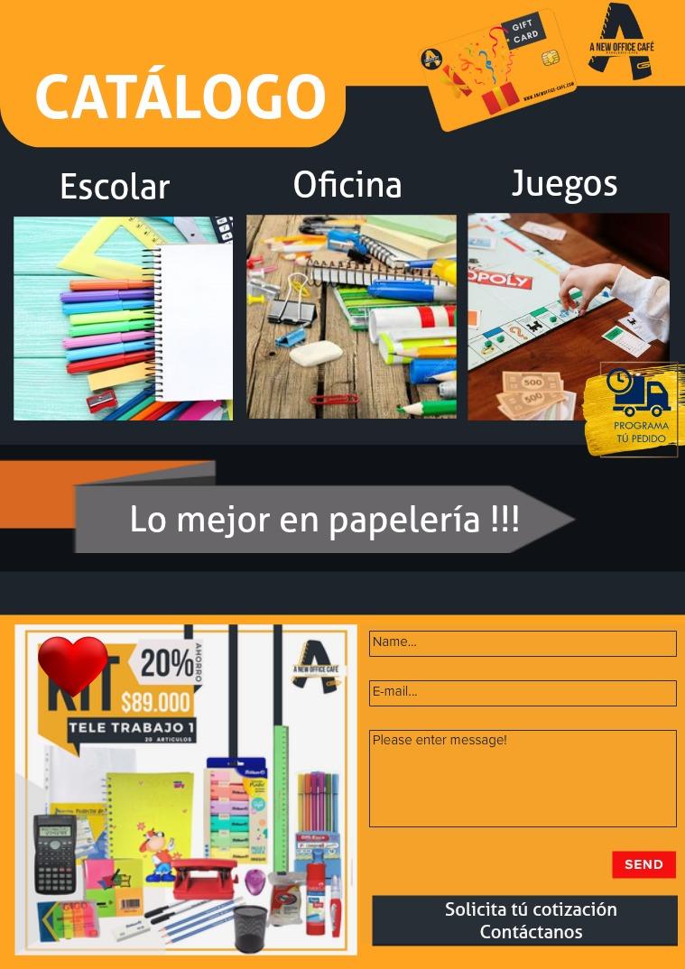 Catálogo e-A New Office-Café Marzo 21