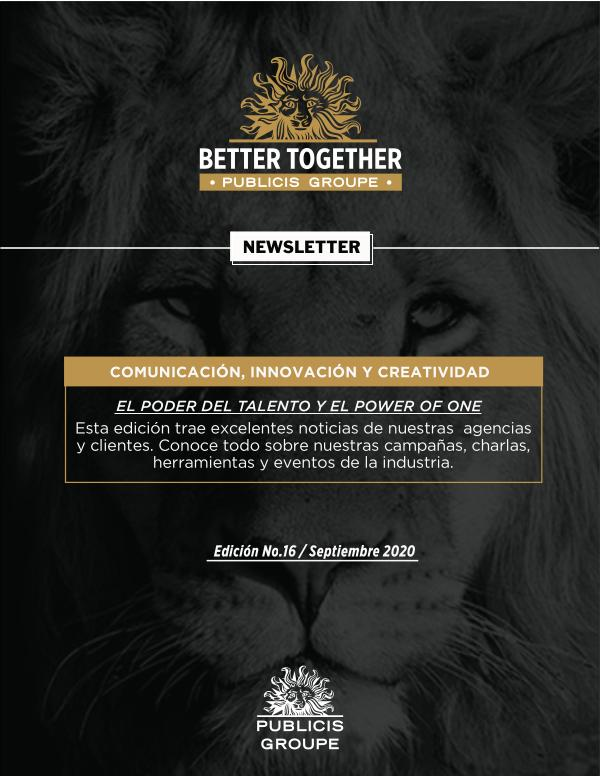 Newsletter Publicis Groupe #16