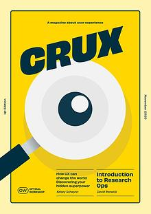 CRUX - A magazine about user experience |