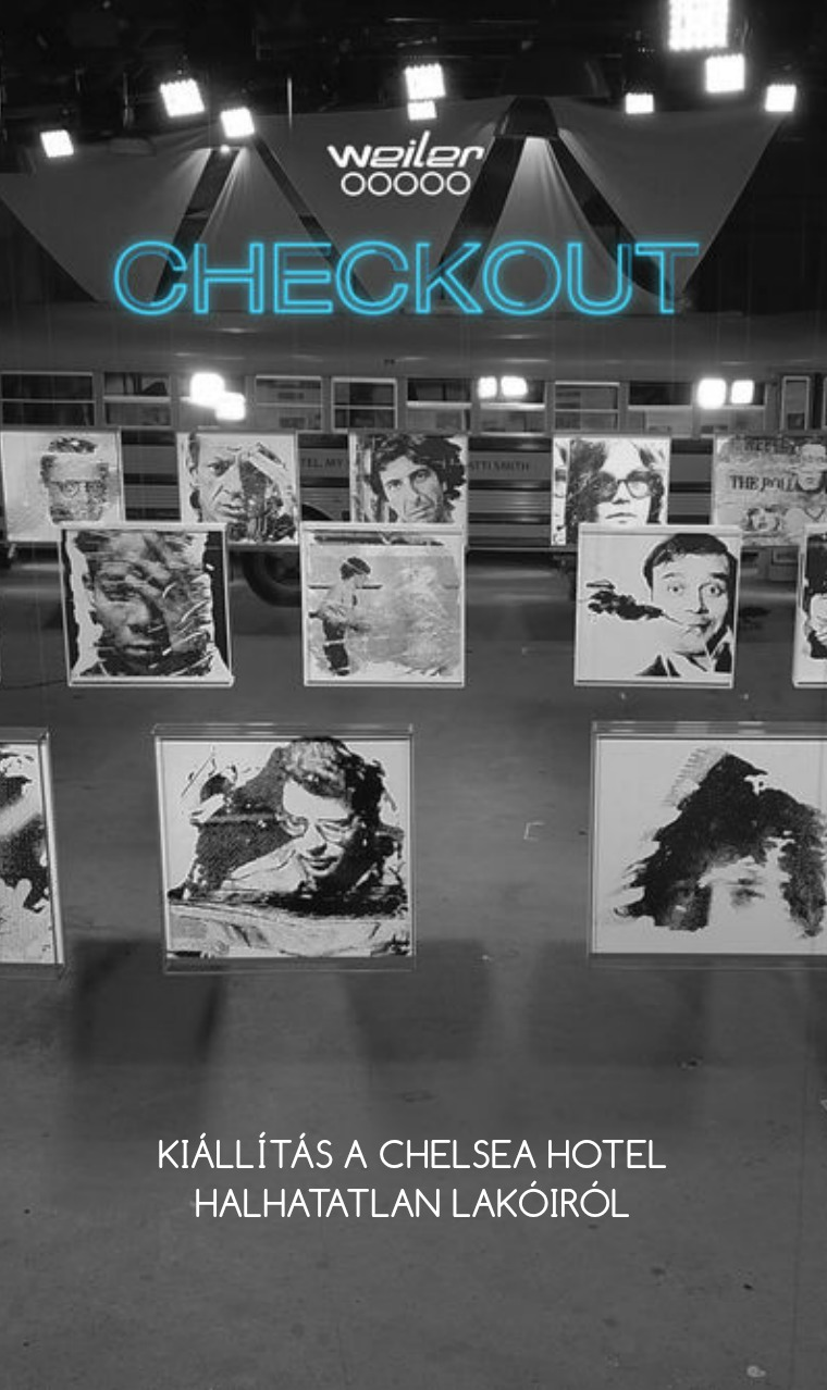 Weiler Péter - CHECKOUT exhibition catalogue