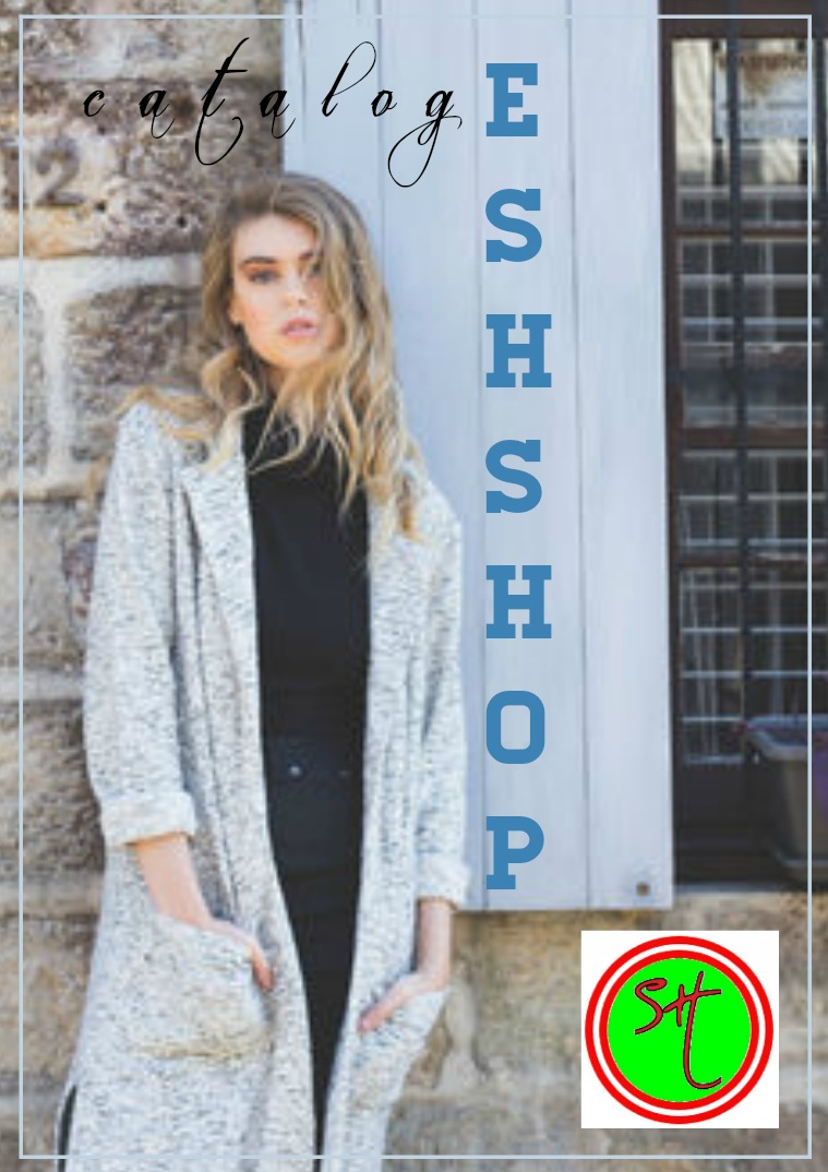 Catalog of exclusive clothing store E_SH_SHOP
