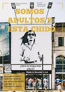 """Revista para adultos: """"Somos adultos y esta chido"""""""