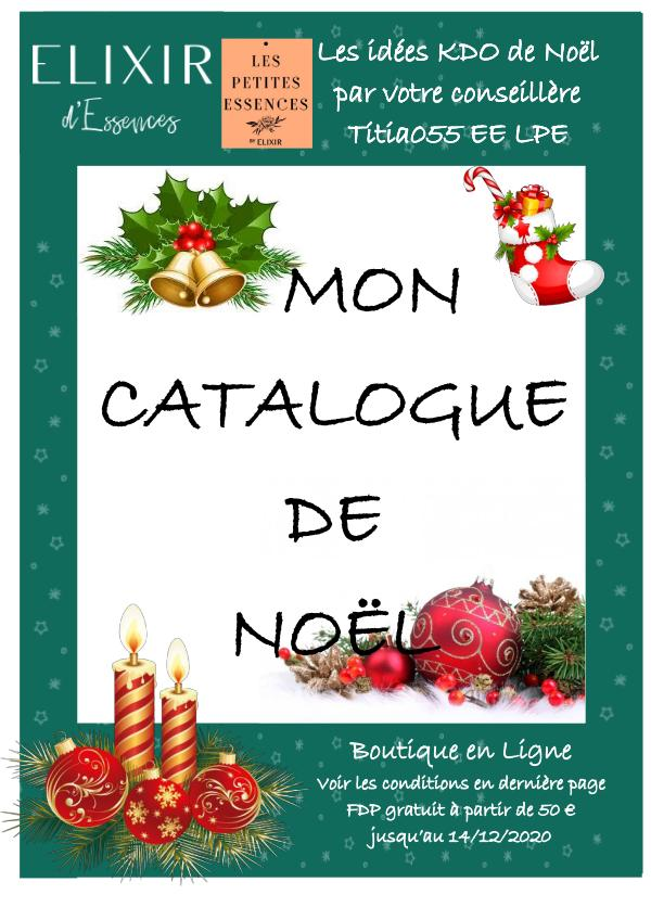 Mon catalogue de Noël Titia EE LPE