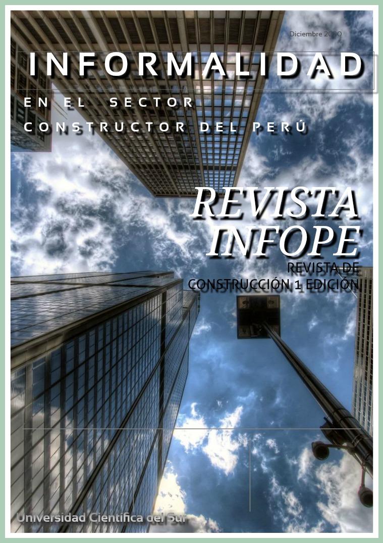 INFORMALIDAD EN LA CONSTRUCCION revista de construccion