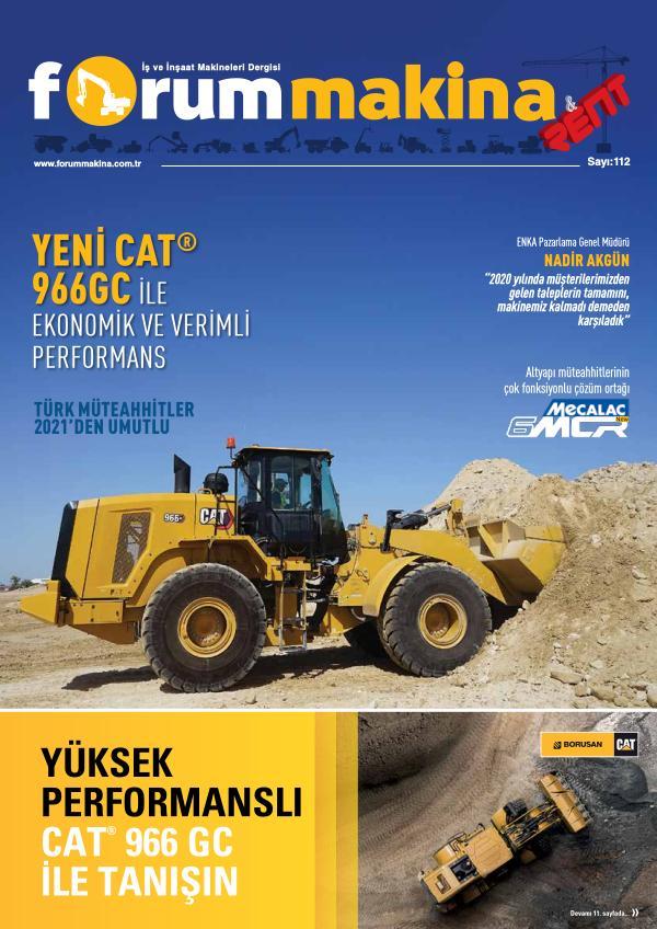 Forum Makina Dergisi - Sayı 112
