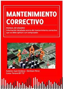 Manual sobre el mantenimiento correctivo