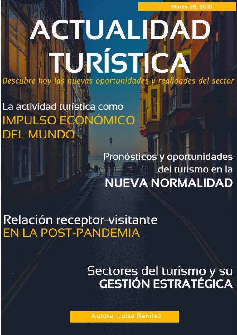 Turismo en la nueva normalidad 1era