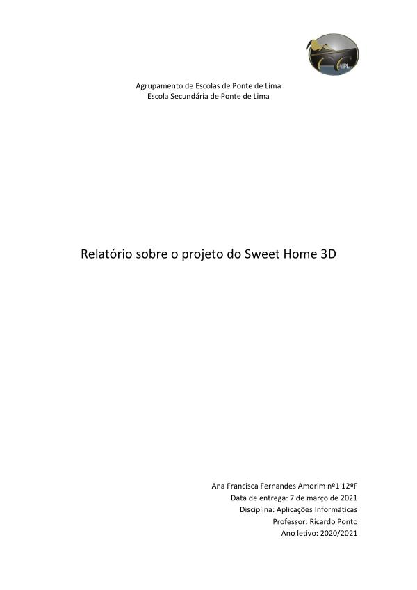 Trabalho Sweet Home 3D