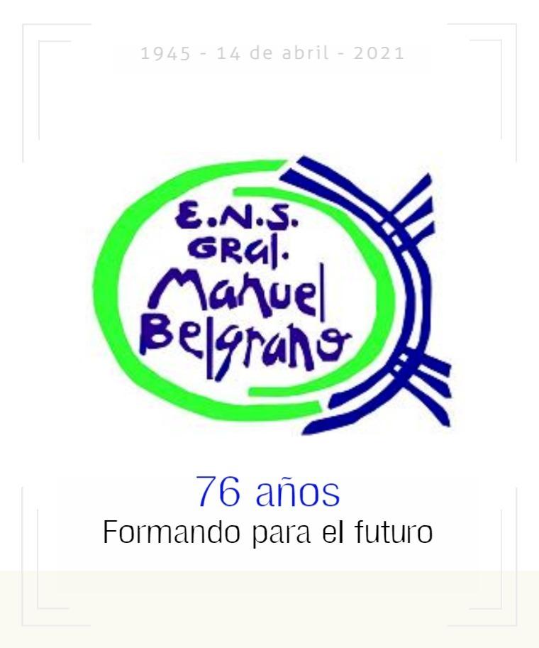 Escuela N.S. Gral. Belgrano Recordamos una parte de nuestra historia.