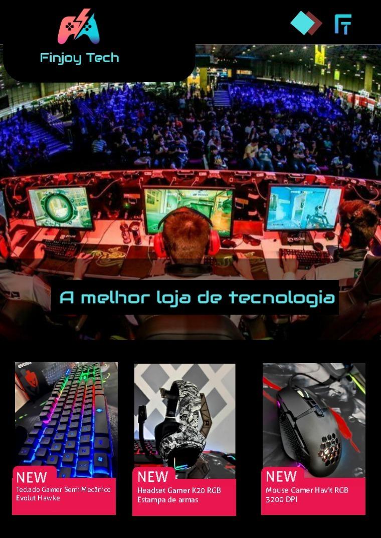 Catálogo Finjoy Tech - Linha Gamer