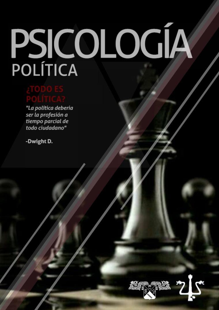 Psicología política, una visión desde la psicologí
