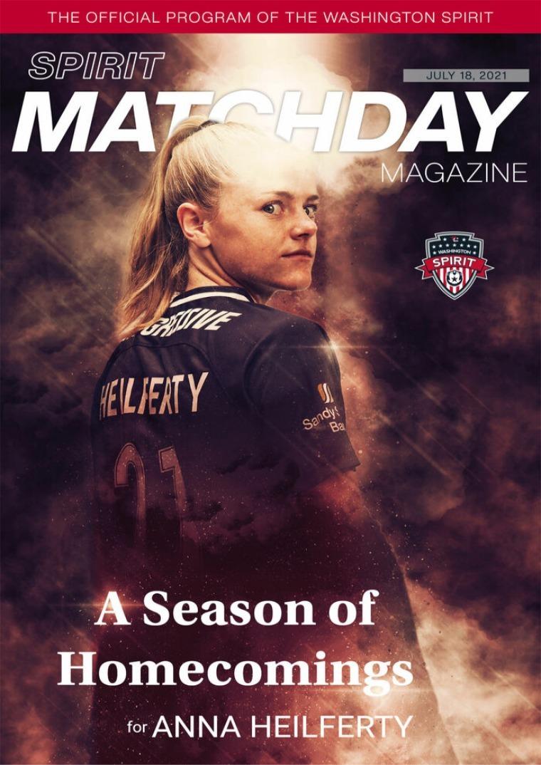 Matchday Magazine July 18, 2021