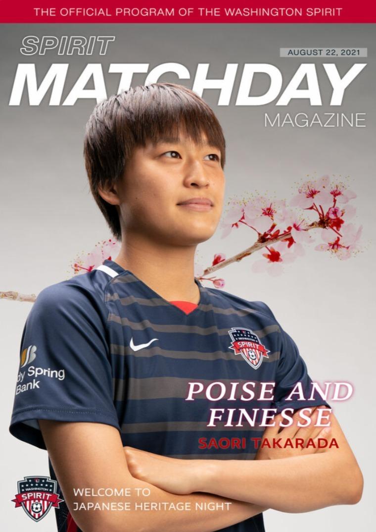 Matchday Magazine August 22, 2021