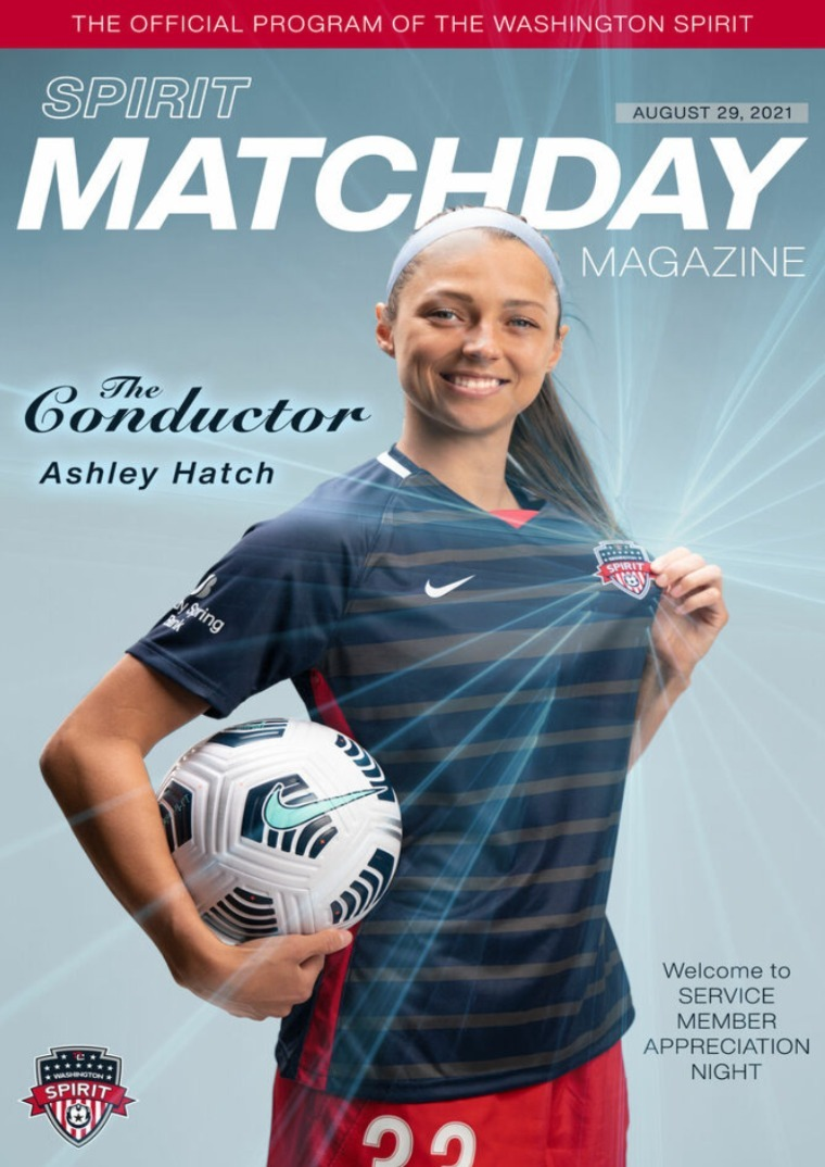 Matchday Magazine August 29, 2021